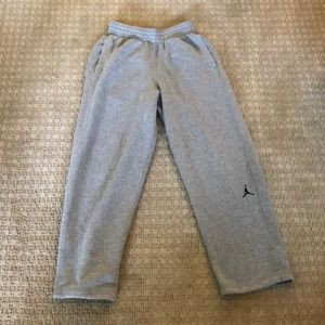 Men's Air Jordan Grey Sweatpants! Size Small